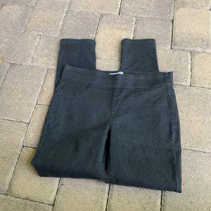 Sonoma Ladies Black Skinny Jeggings, size 12R
